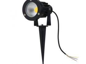 Den-LED-cam-co-san-vuon-ngoai-troi-COB-anh-sang-vang-3000K-anh01